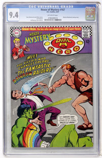 House of Mystery #167 (DC, 1967) CGC NM 9.4 Off-white pages