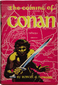 Books:First Editions, Robert E. Howard. The Coming of Conan....