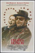 """Movie Posters:Comedy, Prizzi's Honor (20th Century Fox, 1985). One Sheet (27"""" X 41""""). Comedy...."""