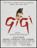 "Movie Posters:Musical, Gigi (MGM, 1958). One Sheet (27"" X 41""). Musical...."