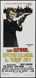 "Movie Posters:Crime, Dirty Harry (Warner Brothers, 1971). Italian Locandina (13"" X 28"").Crime...."