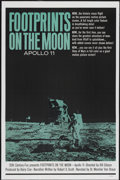"Movie Posters:Documentary, Footprints on the Moon: Apollo 11 (20th Century Fox, 1969). One Sheet (27"" X 41""). Documentary...."
