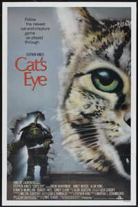 "Cat's Eye (MGM/UA, 1985). One Sheet (27"" X 41""). Thriller"