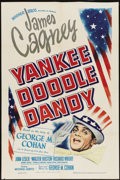 "Movie Posters:Musical, Yankee Doodle Dandy (Warner Brothers, 1942). One Sheet (27"" X 41"").Musical...."