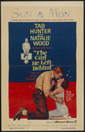 "Movie Posters:Comedy, The Girl He Left Behind (Warner Brothers, 1956). Window Card (14"" X 22""). Comedy...."