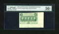 Fractional Currency:First Issue, Fr. 1312 50c First Issue with Two Huge Selvedges PMG About Uncirculated 50 EPQ....