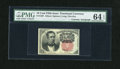 Fractional Currency:Fifth Issue, Fr. 1265 10c Fifth Issue with D.N. Morgan Courtesy Autograph PMGChoice Uncirculated 64 EPQ....