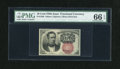 Fractional Currency:Fifth Issue, Fr. 1266 10c Fifth Issue PMG Gem Uncirculated 66 EPQ....