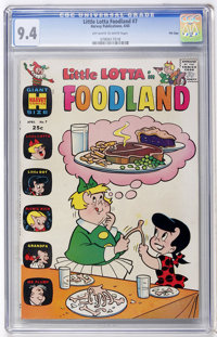 Little Lotta Foodland #7 File Copy (Harvey, 1965) CGC NM 9.4 Off-white to white pages