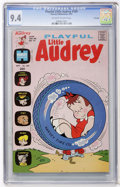 Bronze Age (1970-1979):Humor, Playful Little Audrey #109 File Copy (Harvey, 1973) CGC NM 9.4Off-white to white pages....
