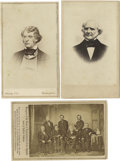 Photography:CDVs, Civil War Era Carte de Visite Photographs,... (Total: 3 Items)