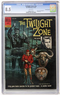 Silver Age (1956-1969):Mystery, Twilight Zone #nn White Mountain pedigree (Dell, 1962) CGC VF+ 8.5White pages....