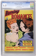 Golden Age (1938-1955):Romance, Fox Giants - Burning Romances (Fox Features Syndicate, 1949) CGC FN6.0 Cream to Off-white pages....