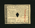 Colonial Notes:Massachusetts, Massachusetts May 5, 1780 $8 Very Choice New....