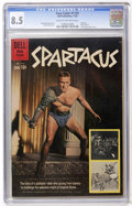 Silver Age (1956-1969):Adventure, Four Color #1139 Spartacus - File Copy (Dell, 1960) CGC VF+ 8.5 Cream to off-white pages....
