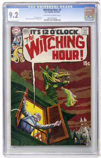The Witching Hour #5 (DC, 1969) CGC NM- 9.2 Off-white to white pages