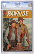 Silver Age (1956-1969):Western, Four Color #1202 Rawhide (Dell, 1961) CGC NM- 9.2 Off-white towhite pages....