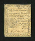 Colonial Notes:Pennsylvania, Pennsylvania April 10, 1777 4d Very Fine-Extremely Fine....