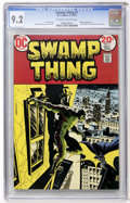 Bronze Age (1970-1979):Horror, Swamp Thing #7 (DC, 1973) CGC NM- 9.2 Off-white to white pages....