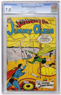 Golden Age (1938-1955):Superhero, Superman's Pal Jimmy Olsen #2 (DC, 1954) CGC FN/VF 7.0 Cream to off-white pages....