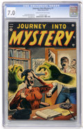 Golden Age (1938-1955):Horror, Journey Into Mystery #1 (Atlas, 1952) CGC FN/VF 7.0 Cream tooff-white pages....