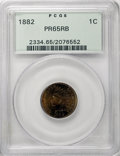 Proof Indian Cents: , 1882 1C PR65 Red and Brown PCGS. . PCGS Population (67/21). NGC Census: (57/24). Mintage: 3,100. Numismedia Wsl. Price for ...