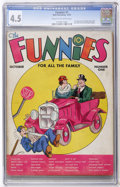 Platinum Age (1897-1937):Miscellaneous, The Funnies #1 (Dell, 1936) CGC VG+ 4.5 Cream to off-whitepages....