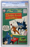 Silver Age (1956-1969):Superhero, Detective Comics #235 (DC, 1956) CGC FN/VF 7.0 Cream to off-white pages....