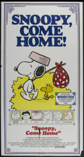 "Movie Posters:Animated, Snoopy, Come Home! (National General, 1972). Three Sheet (41"" X81""). Animated...."