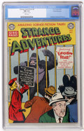Golden Age (1938-1955):Science Fiction, Strange Adventures #8 White Mountain pedigree (DC, 1951) CGC NM 9.4White pages....