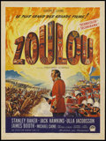 "Movie Posters:War, Zulu (Paramount, 1964). French Petite (23.5"" X 31.5""). War...."