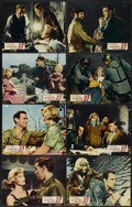 """Movie Posters:War, Carve Her Name with Pride (Rank, 1957). British Lobby Card Set of 8(11"""" X 14""""). War.... (Total: 8 Items)"""
