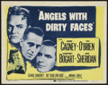 "Movie Posters:Crime, Angels With Dirty Faces (Warner Brothers, R-1956). Title Lobby Card(11"" X 14""). Crime...."
