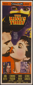 "Movie Posters:Adventure, The King's Thief (MGM, 1955). Insert (14"" X 36""). Adventure...."