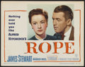 """Movie Posters:Hitchcock, Rope (Warner Brothers, 1948). Lobby Card (11"""" X 14""""). Hitchcock...."""