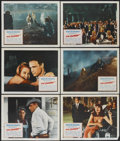 "Movie Posters:Drama, The Chase (Columbia, 1966). Lobby Cards (6) (11"" X 14""). Drama.... (Total: 6 Items)"