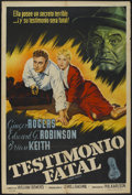 "Movie Posters:Film Noir, Tight Spot (Columbia, 1955). Argentinean Poster (29"" X 43""). Film Noir...."
