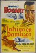 "Movie Posters:Drama, Sirocco (Columbia, 1951). Argentinean Poster (29"" X 43""). Drama...."