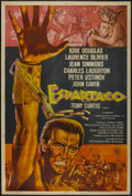 "Movie Posters:Adventure, Spartacus (Universal International, 1960). Argentinean Poster (29""X 43""). Adventure...."