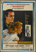 """Movie Posters:Hitchcock, Marnie (Universal, 1964). Argentinean Poster (29"""" X 43"""").Hitchcock...."""