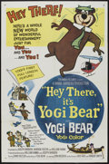 "Movie Posters:Animated, Hey There, It's Yogi Bear (Columbia, 1964). One Sheet (27"" X 41""). Animated...."