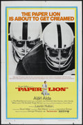 "Movie Posters:Sports, Paper Lion (United Artists, 1968). One Sheet (27"" X 41"") Style A. Sports...."