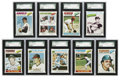 Baseball Cards:Sets, 1977 Topps Baseball High Grade Near Complete Set (659/660). Offered is a high grade 1977 Topps baseball near set of 659/660...