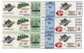 Baseball Collectibles:Tickets, 1990 World Series Ticket Stubs Lot of 6. The 1990 World Seriesfeatured a rematch of the 1972 Series, with the heavily favor...