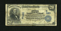 National Bank Notes:West Virginia, Parkersburg, WV - $20 1902 Date Back Fr. 642 The First NB Ch. #(S)180. ...