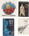 Books:First Editions, Fritz Leiber. Four First Editions, Two signed,... (Total: 4 Items)