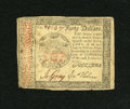 Colonial Notes:Continental Congress Issues, Continental Currency January 14, 1779 $40 Fine-Very Fine....