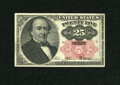 """Fractional Currency:Fifth Issue, """"Manuscript Note"""" Fr. 1308 25c Fifth Issue Very Fine...."""