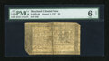 Colonial Notes:Maryland, Maryland January 1, 1767 $4 PMG Good Net 6....