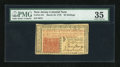 Colonial Notes:New Jersey, New Jersey March 25, 1776 30s PMG Choice Very Fine 35....